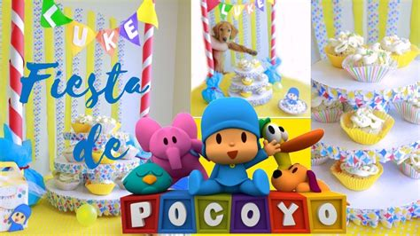 decoracion fiesta pocoyo como decorar fiesta pocoyo by wendylou youtube