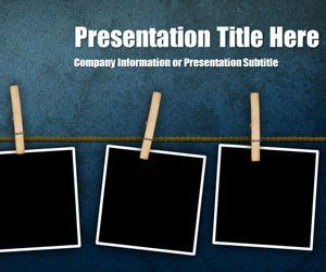Free Peg Grunge Powerpoint Template Free Powerpoint Templates Slidehunter Com Grunge Powerpoint Template