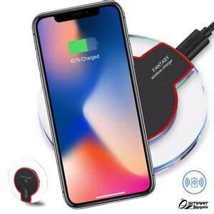 qi wireless charging charger slim pad for iphone xs max iphone x s iphone xr ebay