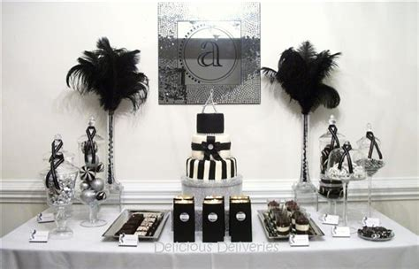 Black And White Buffet Southern Blue Celebrations Black Candy Buffets Bars