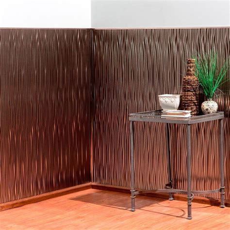 decorative wall paneling fasade waves vertical 96 in x 48 in decorative wall