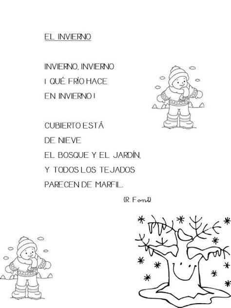 Trabajando en Educación Infantil: 10 poesías sobre el