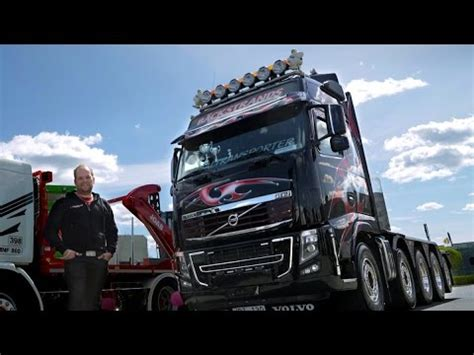 volvo light trucks volvo trucks a black of a volvo fh16 with 700
