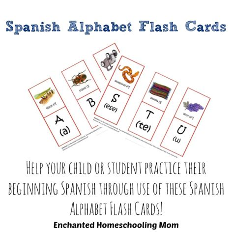 spanish alphabet flashcards printable all alphabets in one word images