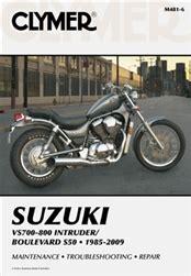 Suzuki Volusia And Boulevard C50 Manual Service Repair