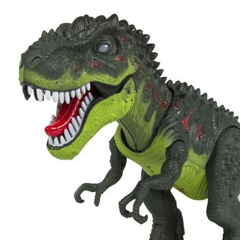 Jo In Sound Toys walking t rex dinosaur figure with lights