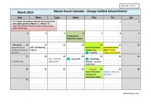 master calendar template best photos of master calendar template blank master