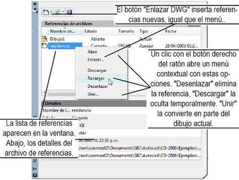 tutorial autocad referencias externas curso gratis de autocad 2008 y 2009 22 referencias externas