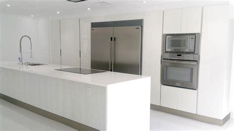 Italian Kitchen Cabinets by Italian Kitchen Design In White Miami General Contractor