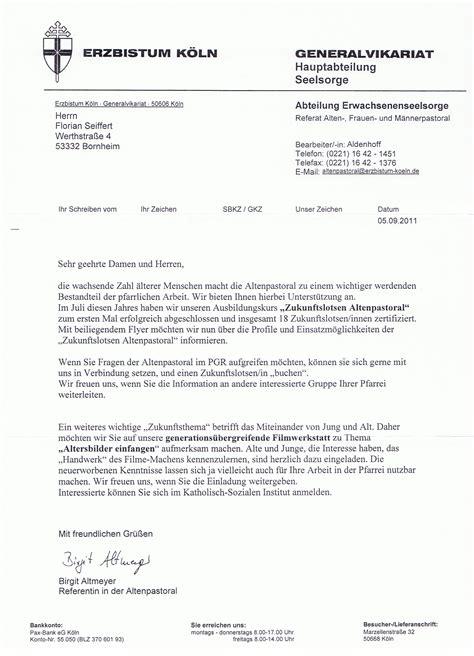 Muster Einladung Probearbeiten Generalvikariat 171 Pfarrgemeinderat 187 Christen Am Rhein 171