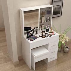 armoire toilette miroir coin makeup chokomag beaut 233 coiffeuse ikea tiroirs