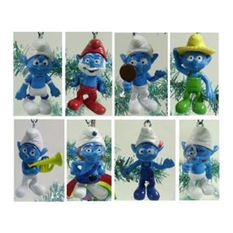 smurfs christmas ornaments smurfs pinterest