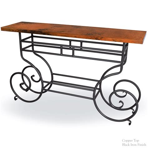 iron sofa table base whitaker console table base only timeless wrought iron