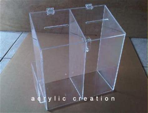 Jual Lu Tidur Akrilik kotak saran o5 acrylic akrilik acrylic display harga