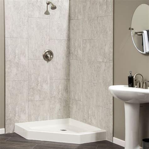 dumawall dumawall vinyl tile wayfair bathroom wall