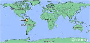 where is the country of located on a map where is colombia where is colombia located in the