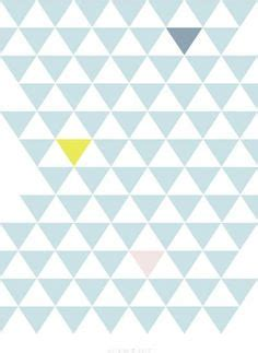 pattern triangle pastel geometric tribal aztec triangle pastel pink and blue