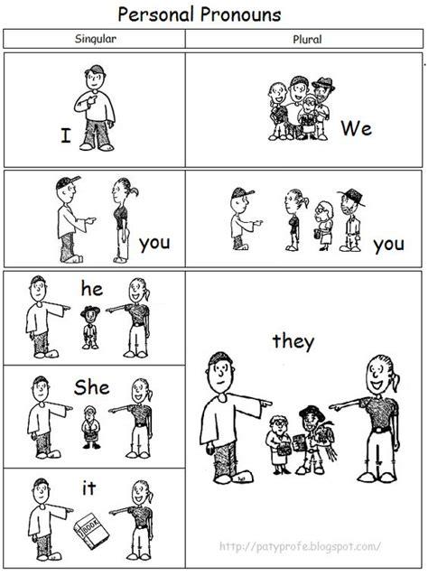 imagenes de verbos en ingles blanco y negro dibujos de pronombres personales en ingl 233 s para colorear