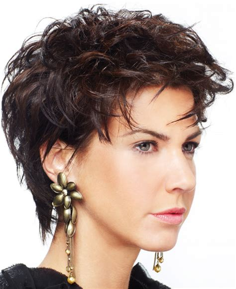 short haircuts for round faces curly hair hair trends