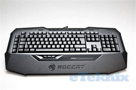 Roccat Isku Gaming Keyboard roccat isku illuminated gaming keyboard review eteknix