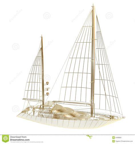 yacht boat frame sail boat frame stock photo image 2499800