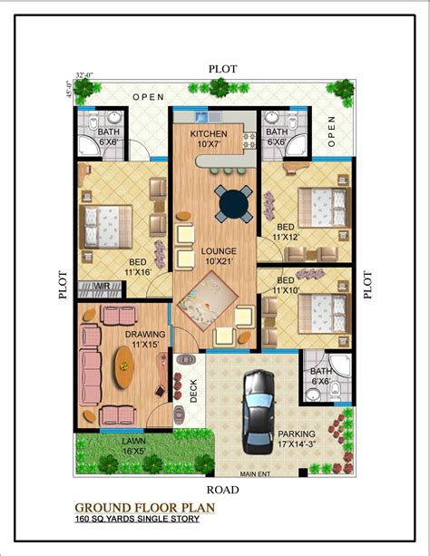 home maps design 400 square yard our projects noman builders karachi pakistan