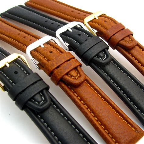 Gunny Calf Leather 28mm 1 condor luxurious padded calf leather band 18mm