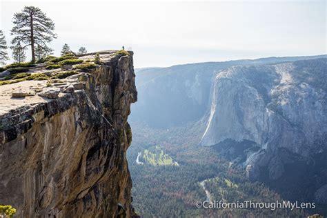 taft point hike  yosemite national park california