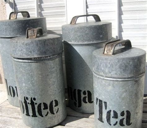 rustic kitchen canister sets vintage kitchen decor vintage love pinterest