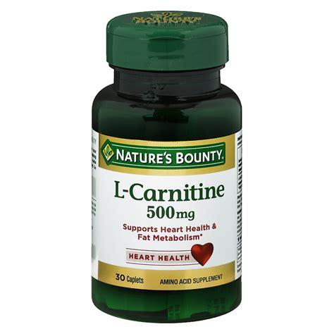 Suplemen L Carnitine Nature S Bounty L Carnitine 500 Mg Dietary Supplement