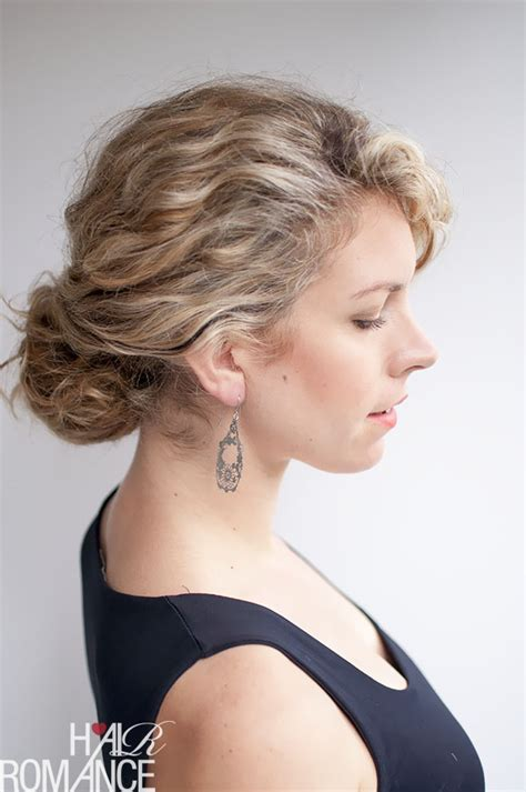 curly hairstyles to do curly hairstyle tutorial the twist tuck bun hair romance