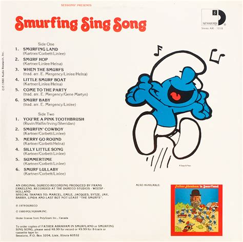 Smurfs Songs | when smurfs ruled record stores