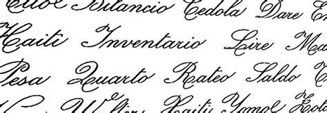 lettere corsivo inglese corso di calligrafia a corsivo italiano anni 20