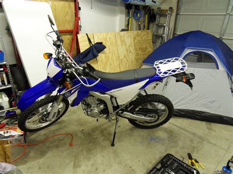 Wr250r Rear Rack by Another Wr250r Rear Rack Designed With Options