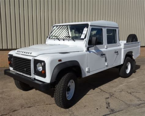 land rover truck for sale land rover 130 lhd double cab for sale mod direct sales