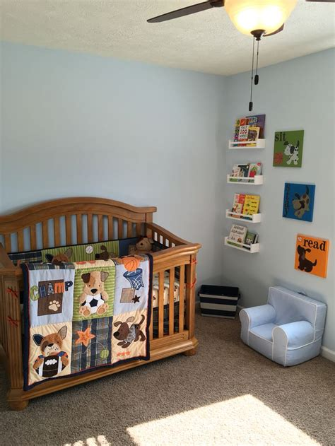 Lambs And Bow Wow Crib Bedding by Lambs And Bow Wow Bedding With Reading Corner