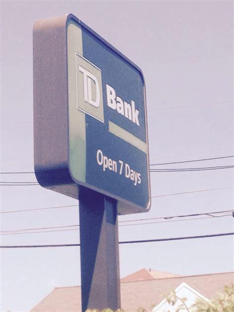 td bank ca td bank banks credit unions 1999 lenola rd