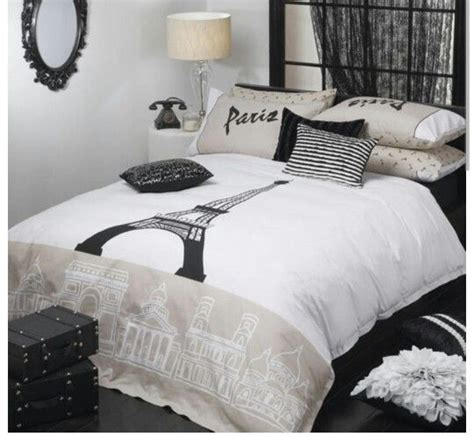 black and white paris bedding paris black and white bedding pictures to pin on pinterest