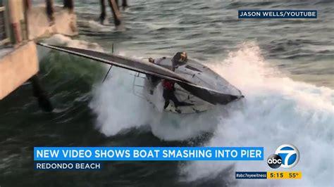 malibu boats internship 4 rescued after sailboat capsizes slams into redondo