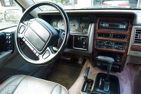 1994 Jeep Interior 1994 Jeep Grand