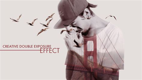 tutorial photoshop double exposure indonesia creative double exposure effect photoshop tutorial youtube