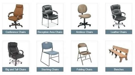 Types Of Desk Chairs by What Are The Types Of Office Chairs Quora