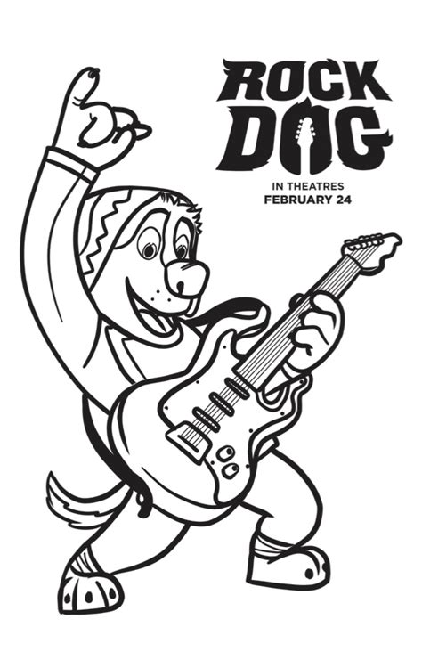 rock showtimes free rock coloring pages mafia