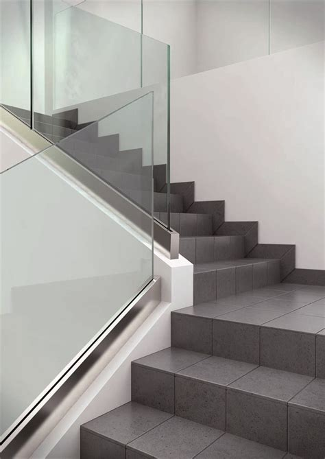 Glass Banister For Stairs by Best 25 Glass Stairs Ideas On Staircase Glass