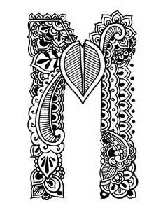 henna coloring pages coloring pages henna alphabet on storenvy
