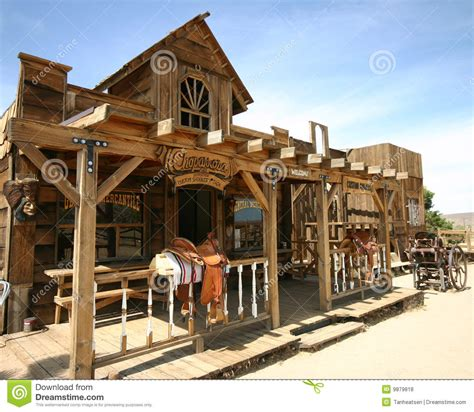 Home Interior Cowboy Pictures by Old Western Town Stock Photo Image Of California Desert