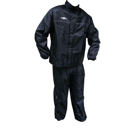 L 856 Black roxter waterproof motorcycle jacket trouser kit