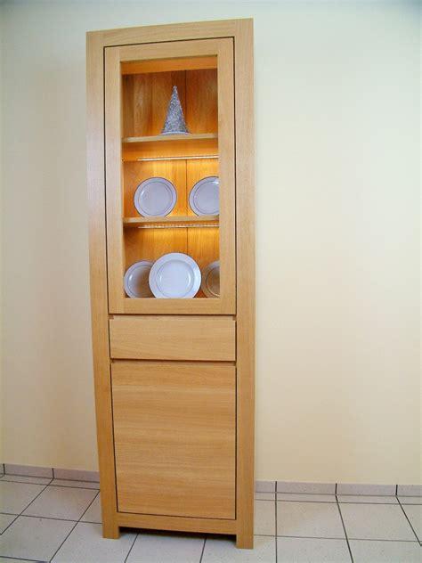 schlafzimmer len led moderne vollmassive vitrine schermbeck breite 65 cm eiche