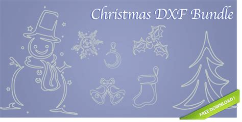 christmas dxf free dxf files images
