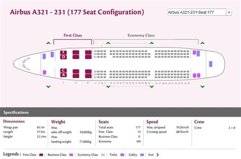 airbus a321 cabin layout qatar airways airlines airbus a321 200 aircraft seating